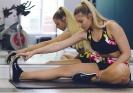 Девушке поможет фитнес