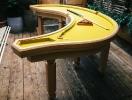 Круглый биллиардный стол
