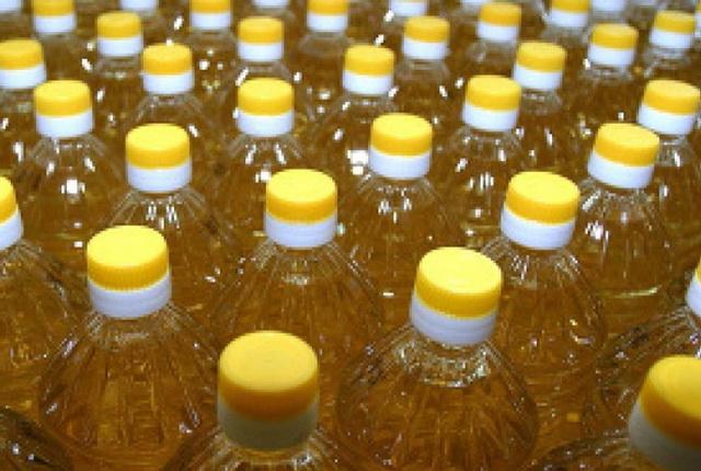 Бутылки с маслом