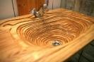 Деревянная мойка