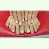 Много красивых ногтей