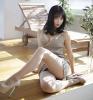 Японка в платье